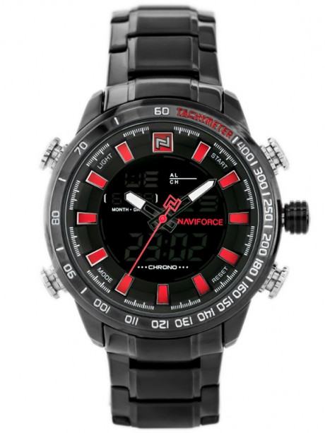 NAVIFORCE - NF9093 (zn041d) - black/red