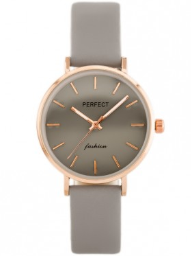 PERFECT A0359 - siwo-beżowy / rosegold (zp841c)