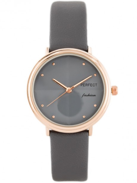 PERFECT A3063 - szary / rosegold (zp842b)
