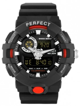 PERFECT - A8003 (zp262c) black/red