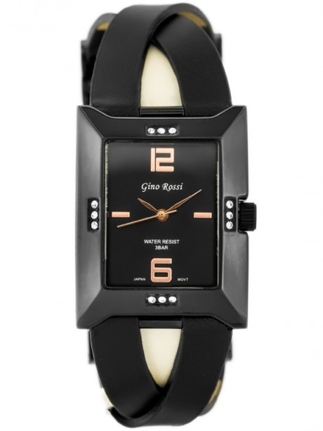 GINO ROSSI - 6724A (zg562g) black/rose gold