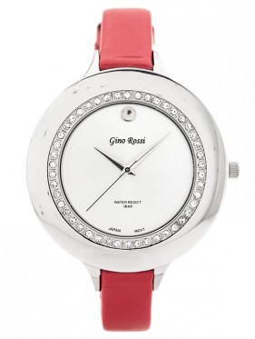 GINO ROSSI - 312A (zg521a) silver/red