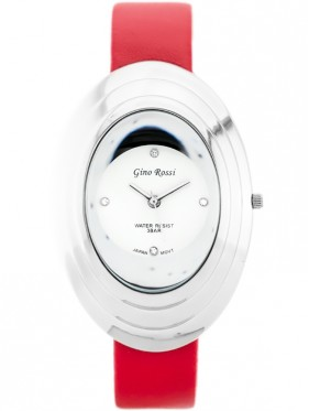 GINO ROSSI - 6490A (zg538d) silver/red