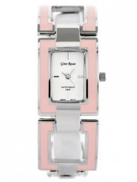 GINO ROSSI - 8687B (zg557a) silver/pink