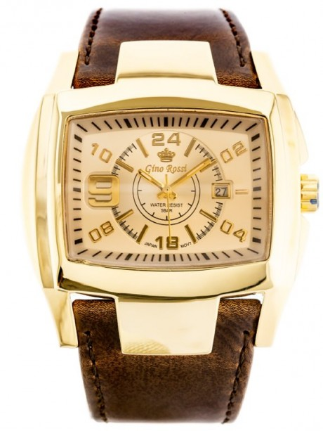 GINO ROSSI - ROCKY (zg057k) gold/brown
