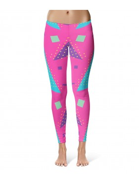 LEGGINSY PINK TRIANGLES